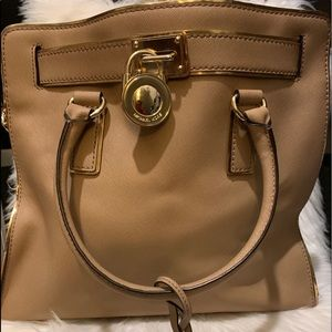 MK Leather Bag w/ Dustbag (Gently Used)